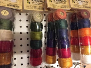 hand stitching threads (10)