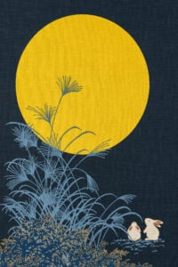 Bunnies, Yellow moon